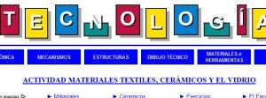 Materiales Textiles Ceramicos y el Vidrio