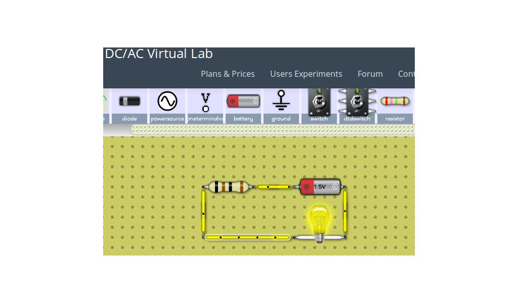 Simulador de circuitos eléctricos | Blog de Tecnología