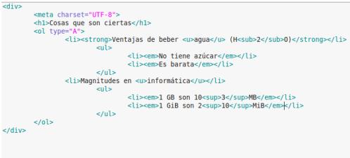htmllistaanidada