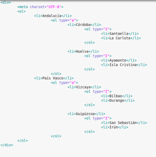 htmllistaanidadatresniveles
